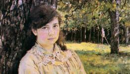 Валентин Серов. «Девушка, освещенная солнцем»