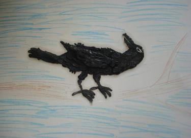 Творческое занятие «Пластилиновая ворона»