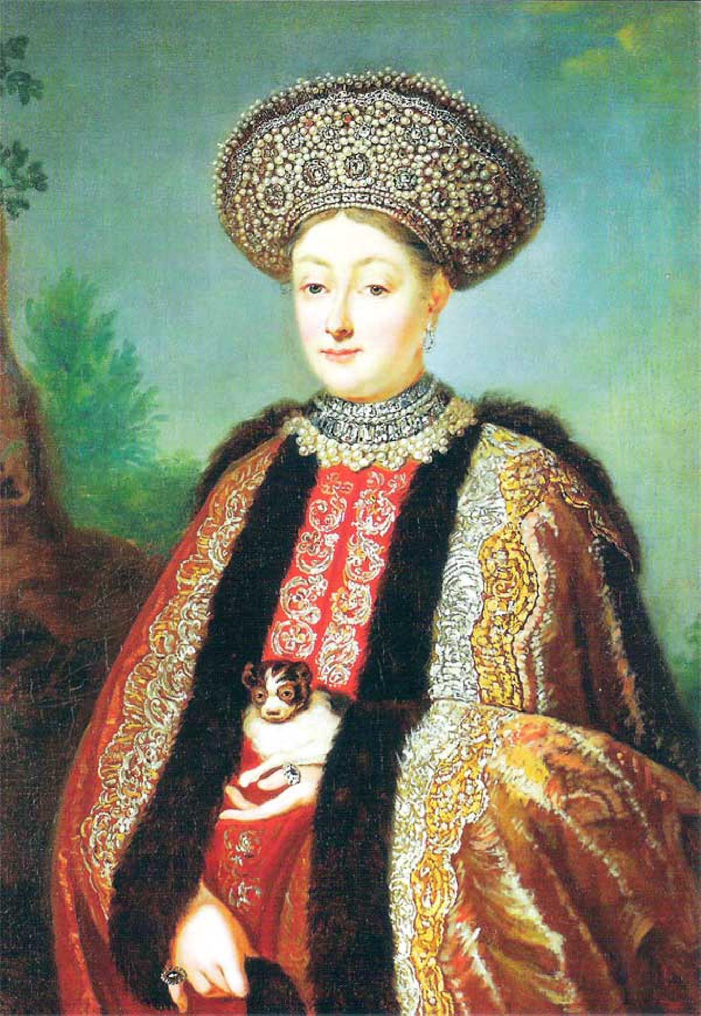 Парсуны и портреты русских цариц и царевен 2