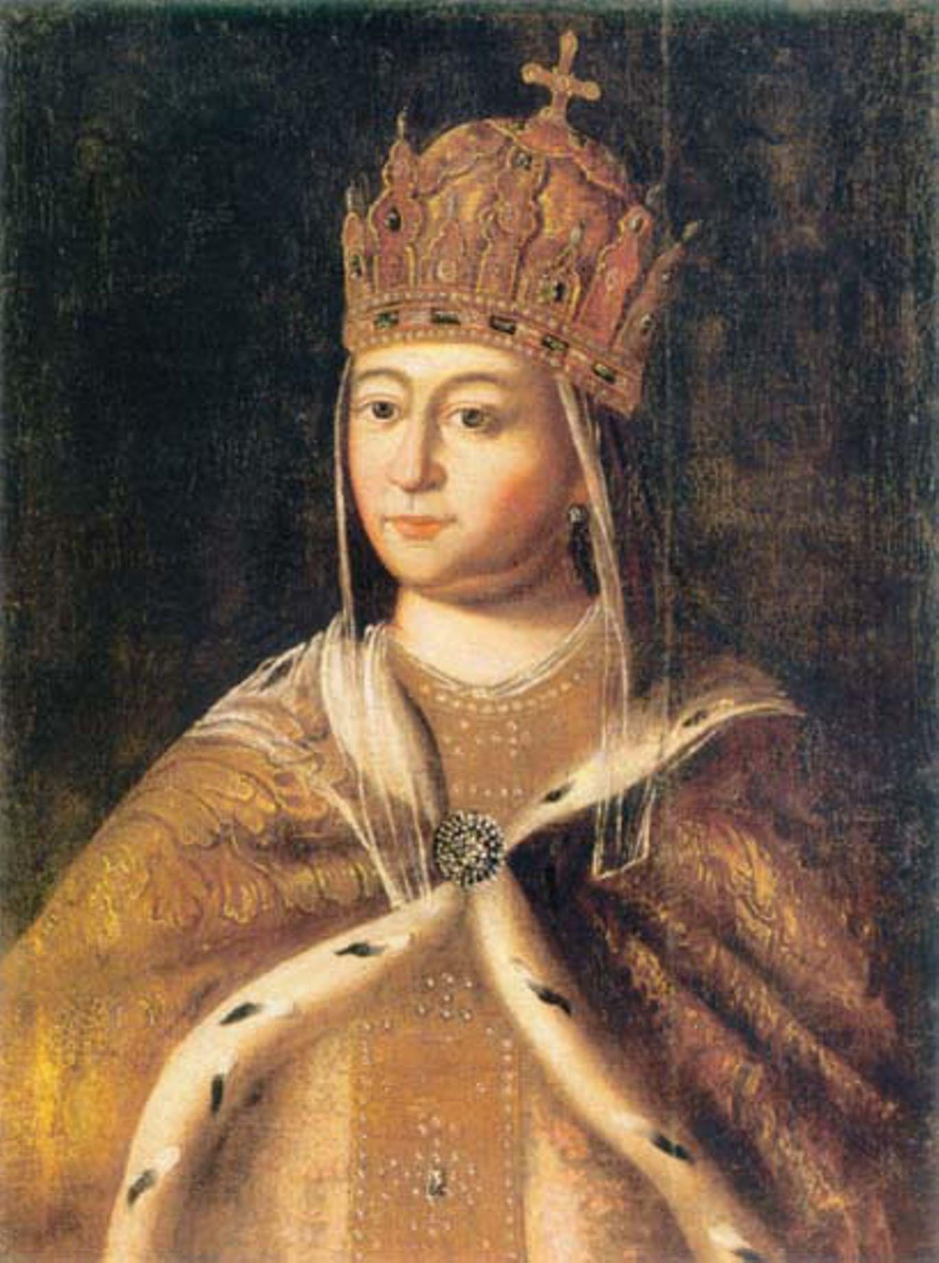 Парсуны и портреты русских цариц и царевен