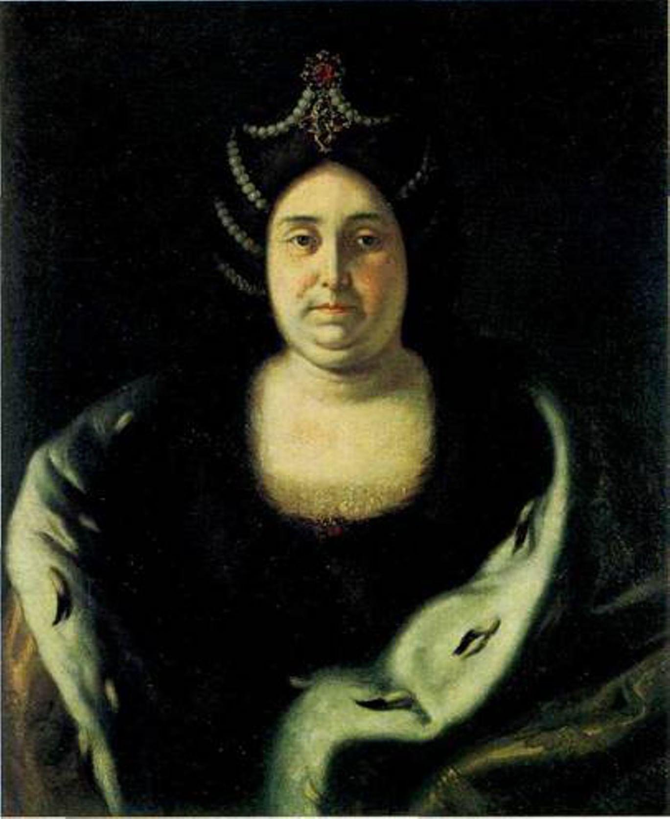 Парсуны и портреты русских цариц и царевен 4