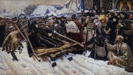 Летопись земли Русской: семь исторических фигур вкартинах Василия Сурикова