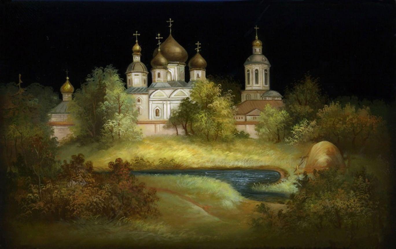 Русские лаки. Галерея 1. Федоскино