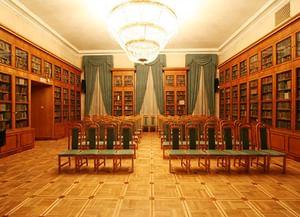 Овальный зал Библиотеки иностранной литературы