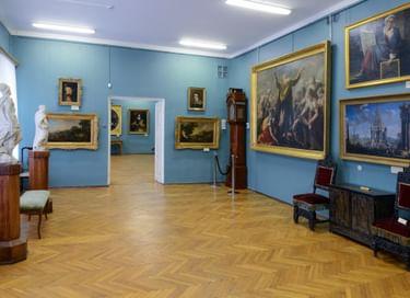 Экспозиция «Русское и западноевропейское искусство XVI–XIX вв.»