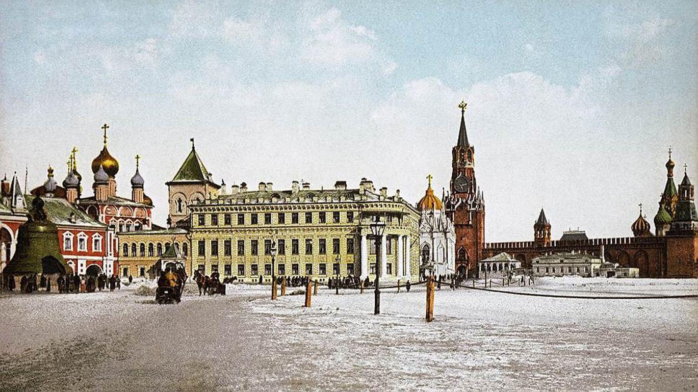 юбки открытки московского кремля лапы