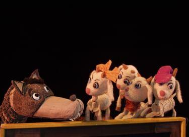 Спектакль «Волк и семеро козлят»