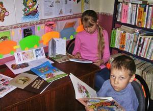 Краснянская сельская библиотека-филиал № 19