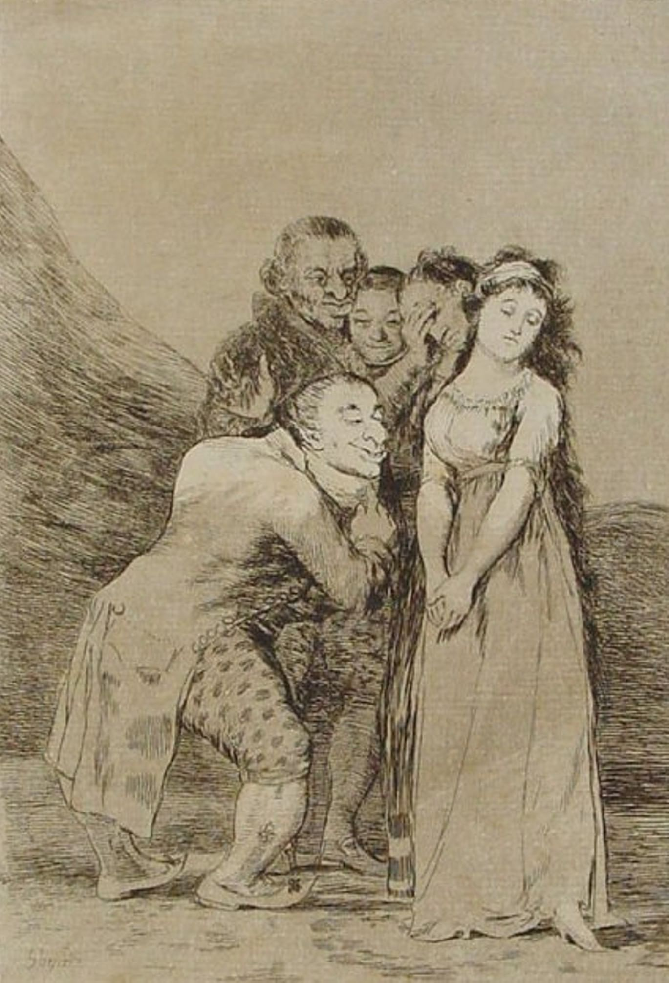 «Капричос». Гойя и Дали в Музее имени Пушкина. Галерея 1