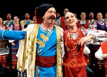Концерт Кубанского казачьего хора в Уссурийске