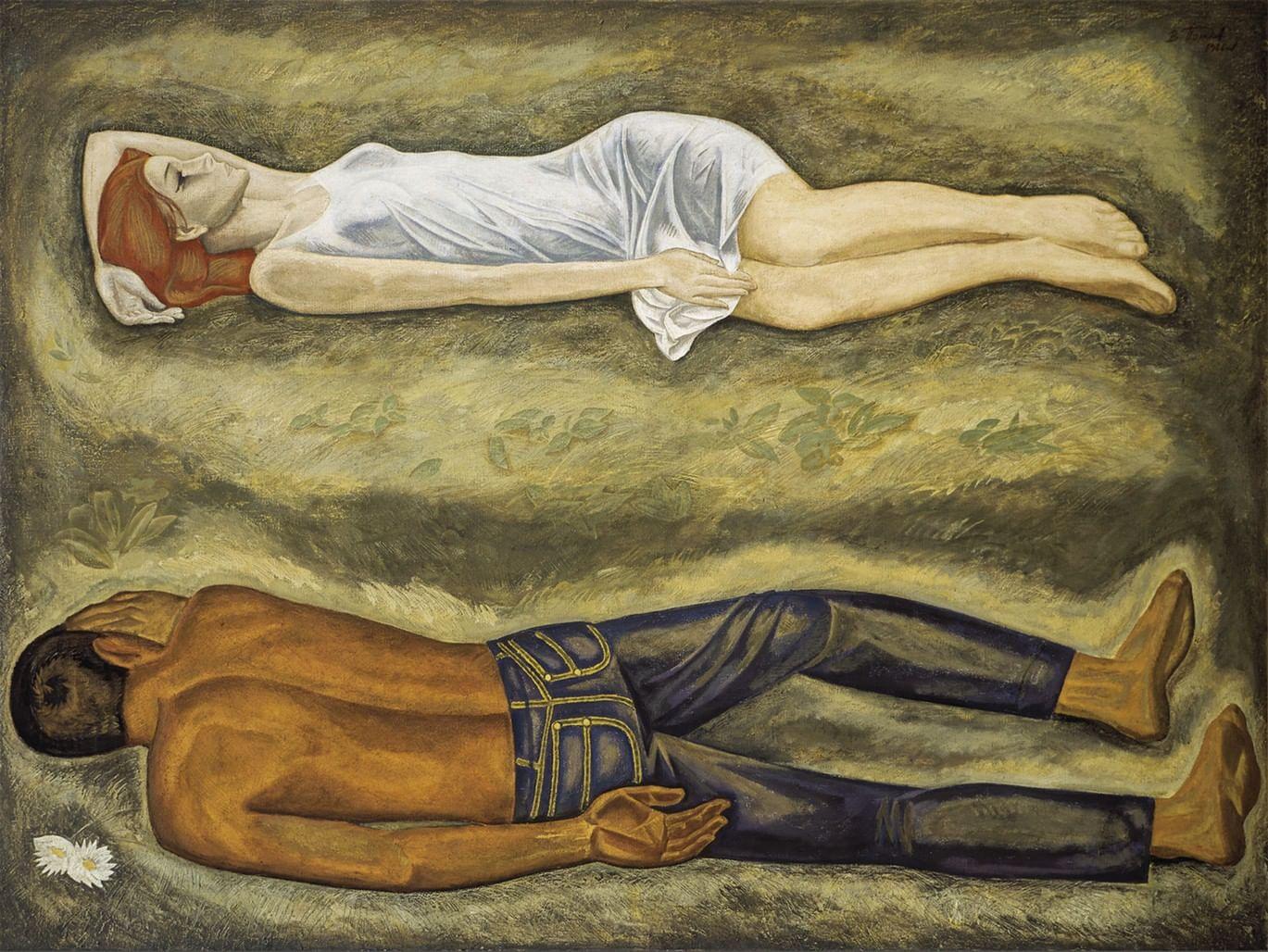 «Оттепель» в Третьяковской галерее. Галерея 1