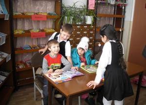 Краснокумская сельская библиотека № 4
