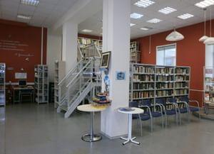 Библиотека № 204 – Центр культурного наследия Н. С. Гумилева