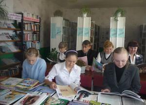 Новокаръявдинская сельская библиотека