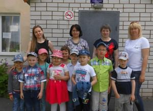 Городская детская библиотека № 4  г. Алексеевка