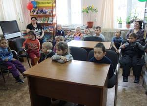 Детская библиотека села Аксарки