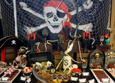 Детский день рождения «Пираты в поисках сокровищ»