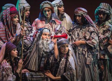 Спектакль «Иосиф и его удивительный плащ снов»