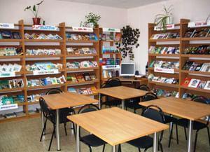 Районная библиотека поселка Теплое