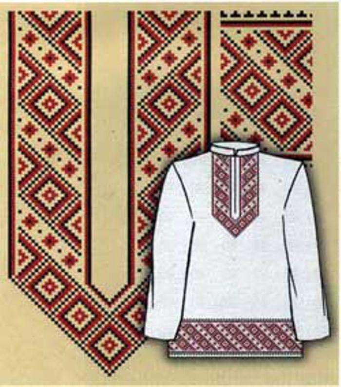 Макошь схема вышивки крестом фото 10