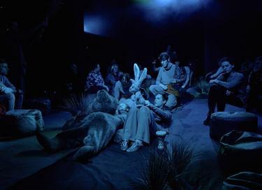 Спектакль «Сказка с закрытыми глазами «Ёжик в тумане»