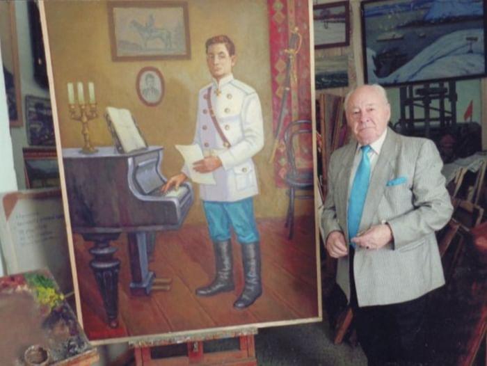 Экспозиция «Портрет композитора Макса Кюсса»