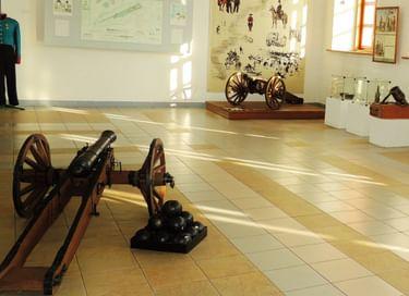 Экспозиция «История Кузнецкой крепости и сибирских укрепленных линий»