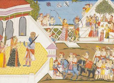Лекция «Все, как один, божественно прекрасны... Живопись Индии. Часть 1»