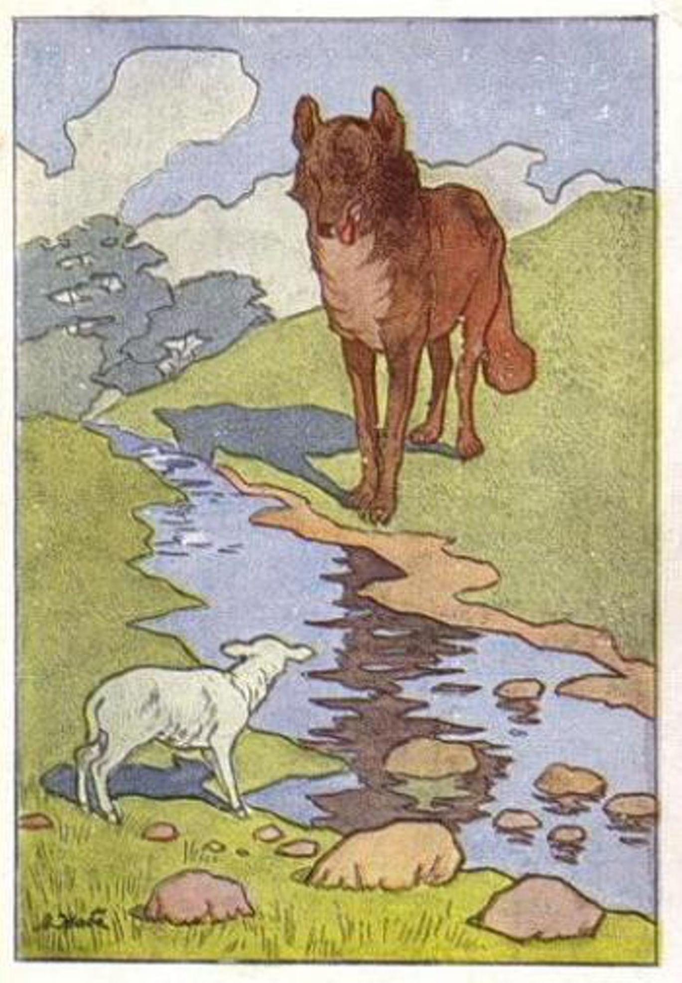 Волк и ягненок