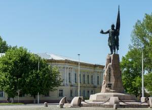 Памятник Ермаку в Новочеркасске