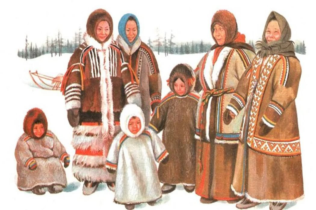 Одежда коми народа картинки для детей