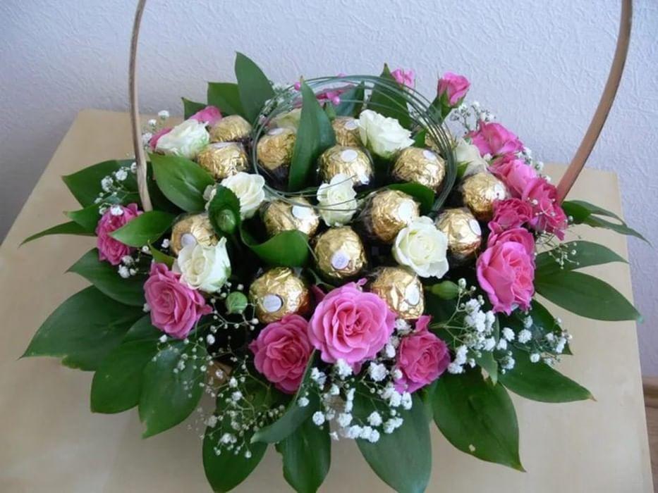 Подарочные букеты из живых цветов мастер класс, букеты цветов голубого