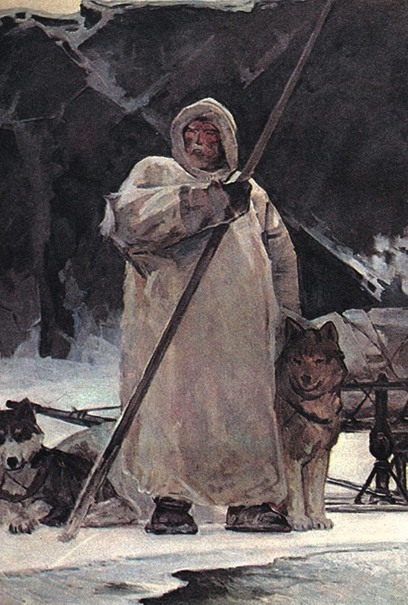 5 русских первопроходцев. Галерея 2. Семен Челюскин