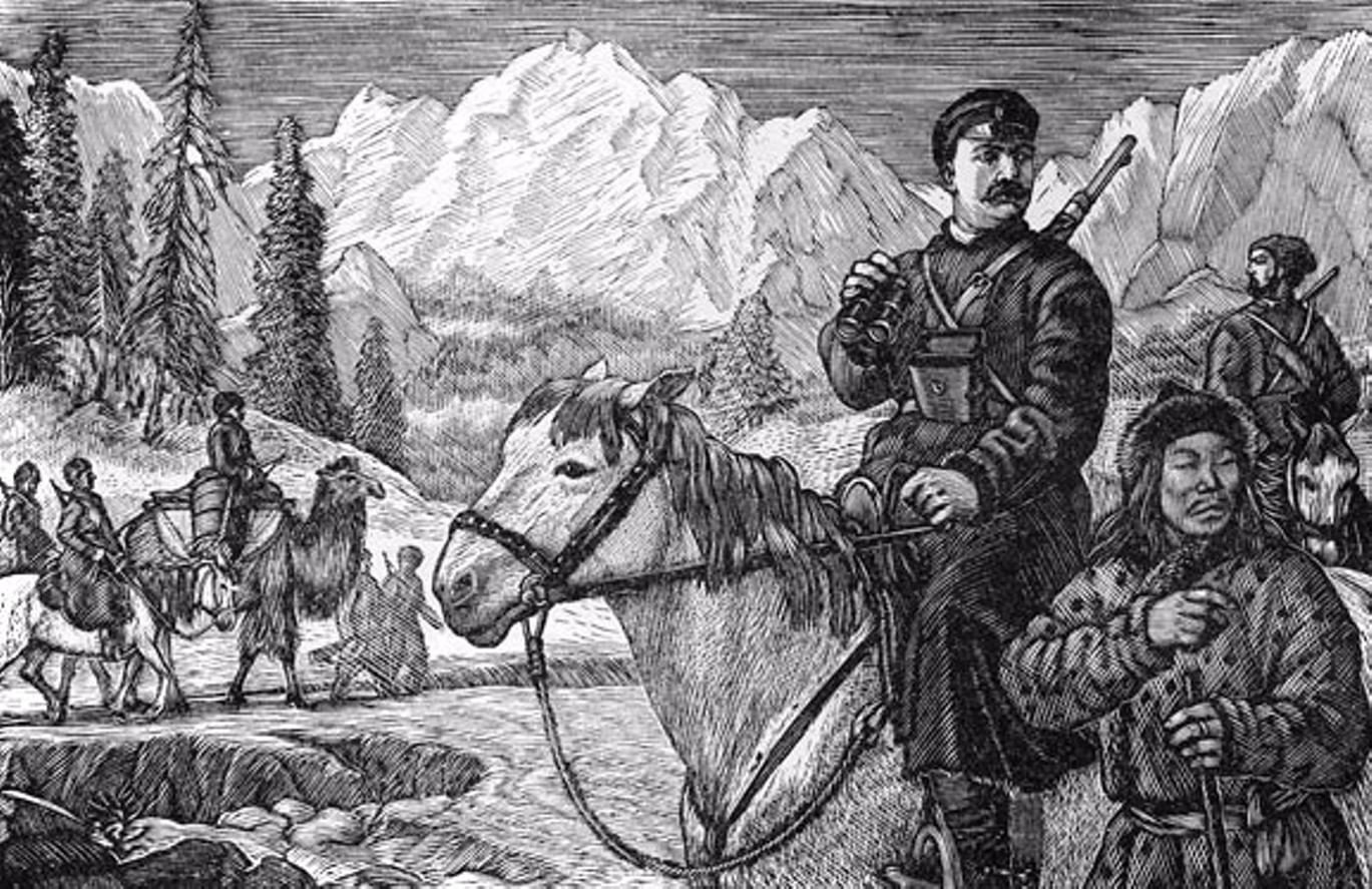 5 русских первопроходцев. Галерея 1. Николай Пржевальский
