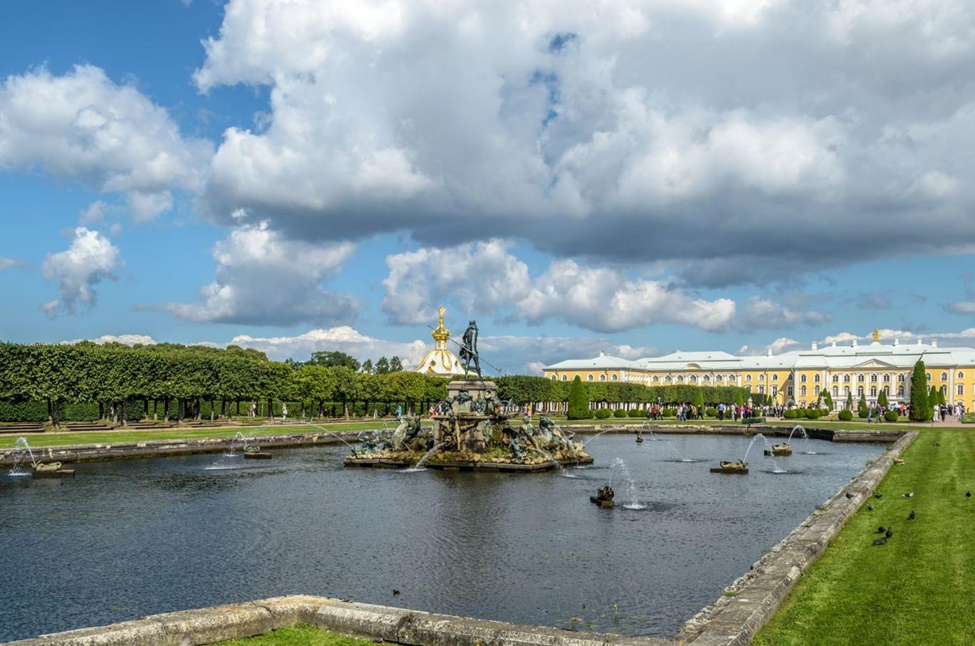 Петергоф откроет сезон фонтанов 20 мая. Галерея 1
