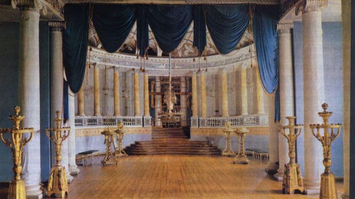 Крепостные театры русских дворян