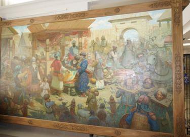Выставка «Волжская Булгария»