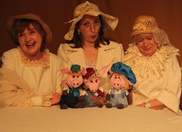 Спектакль «Бабушкины сказки. Глава первая. Три поросёнка»
