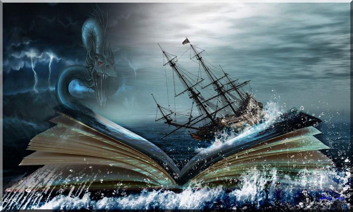 третий одобрил фэнтези фотоколлаж парусные корабли киеве