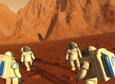 Полнокупольная программа «Первые на Марсе»