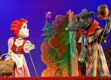 Спектакль «Красная Шапочка и Серый волк»
