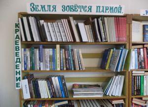 Библиотека-филиал № 3 с. Шердино