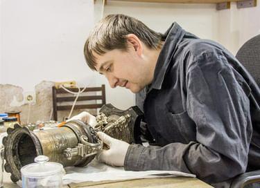 Мастер-класс по реставрации металла