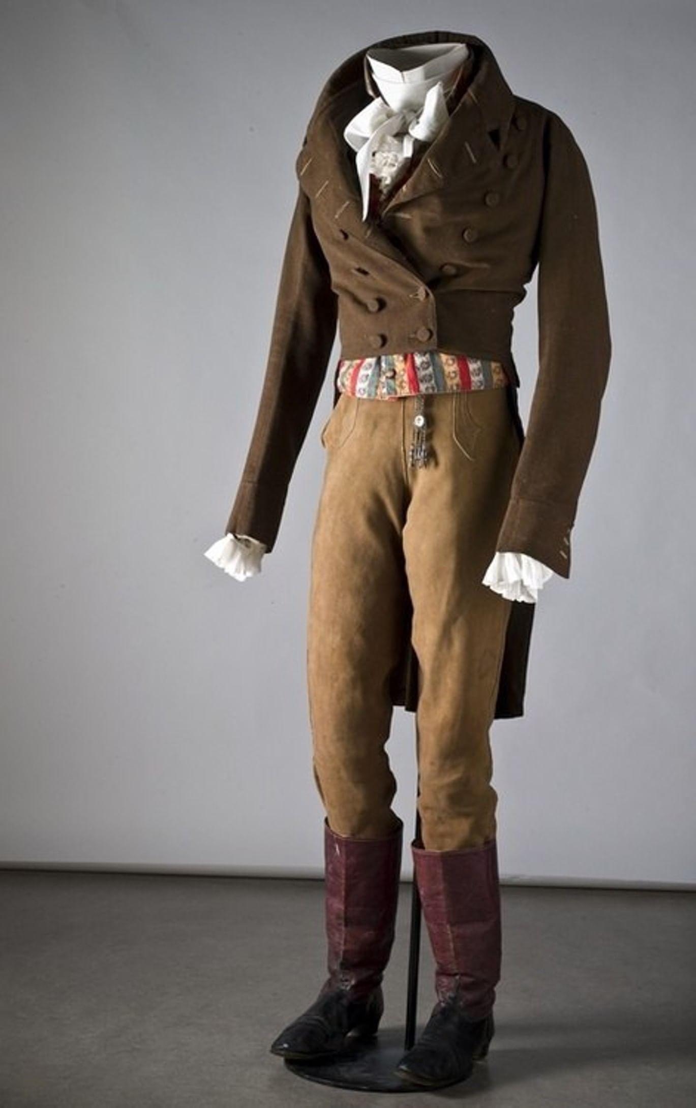 Краткая история мужской моды XVIII – начала XX века. Галерея 2