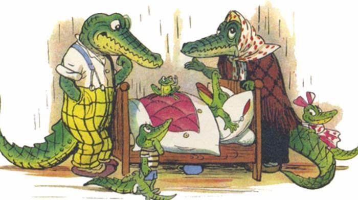 Литературные родственники «Крокодила» Корнея Чуковского