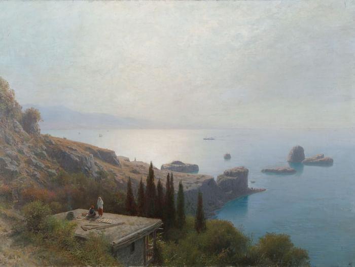 Выставка Льва Лагорио