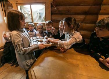 Музейное занятие «Один день в русской избе»