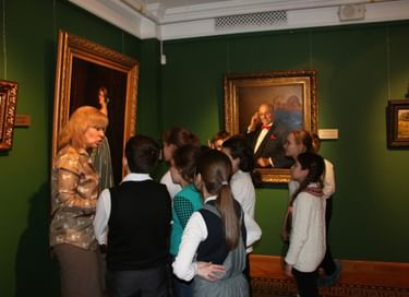 Образовательная программа «Путешествие в удивительный мир изобразительного искусства»