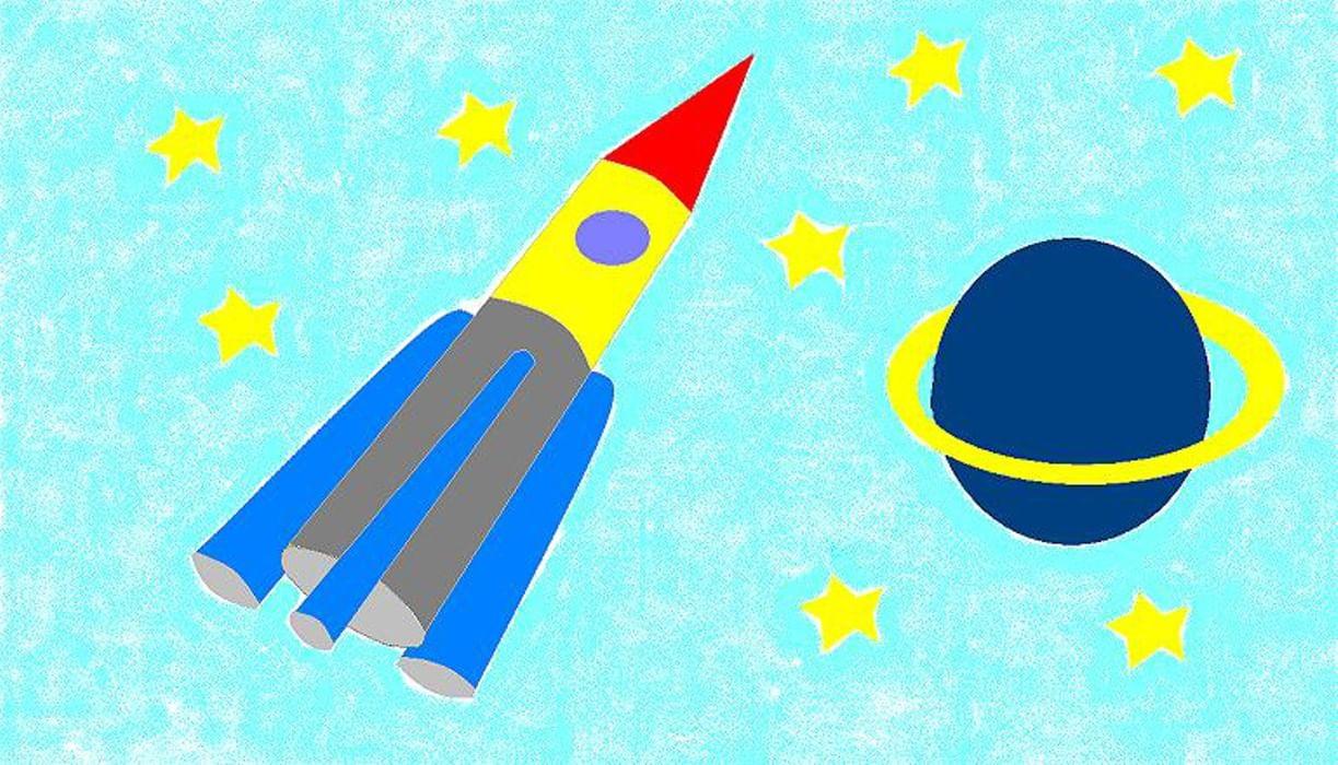 Днем рождения, картинки ко дню космонавтики для школьников