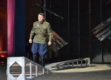 Спектакль Лакского театра «Ахмедхан Султан»